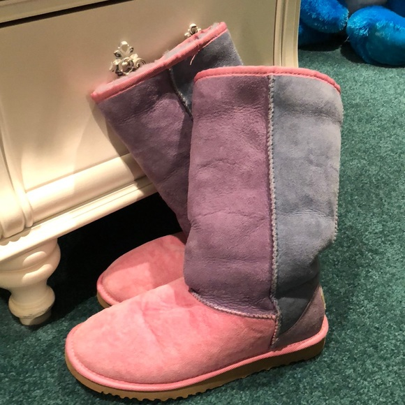 Multicolored Ugg Boots